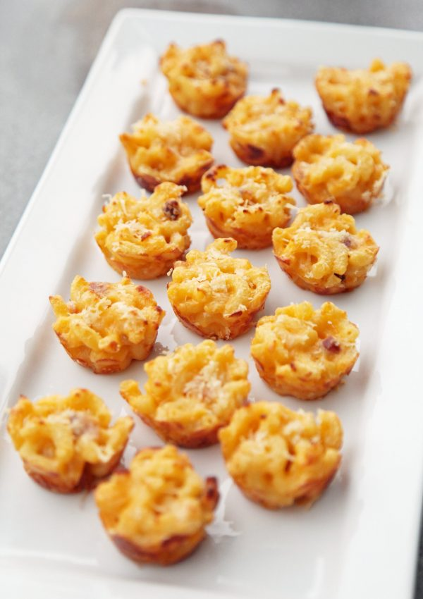 Mini Mac and Cheese Bites