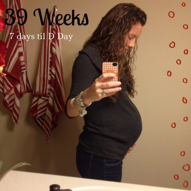 39 Week Bump Update