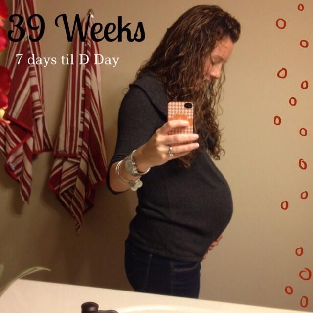 39 Week Bump Update