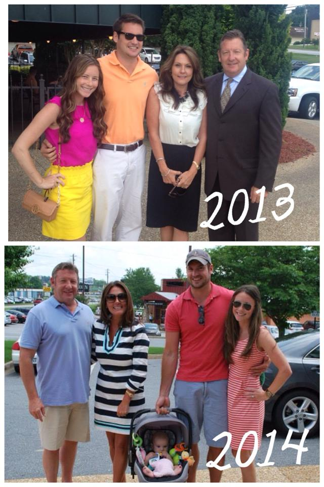 Father's Day 2013 and 2014