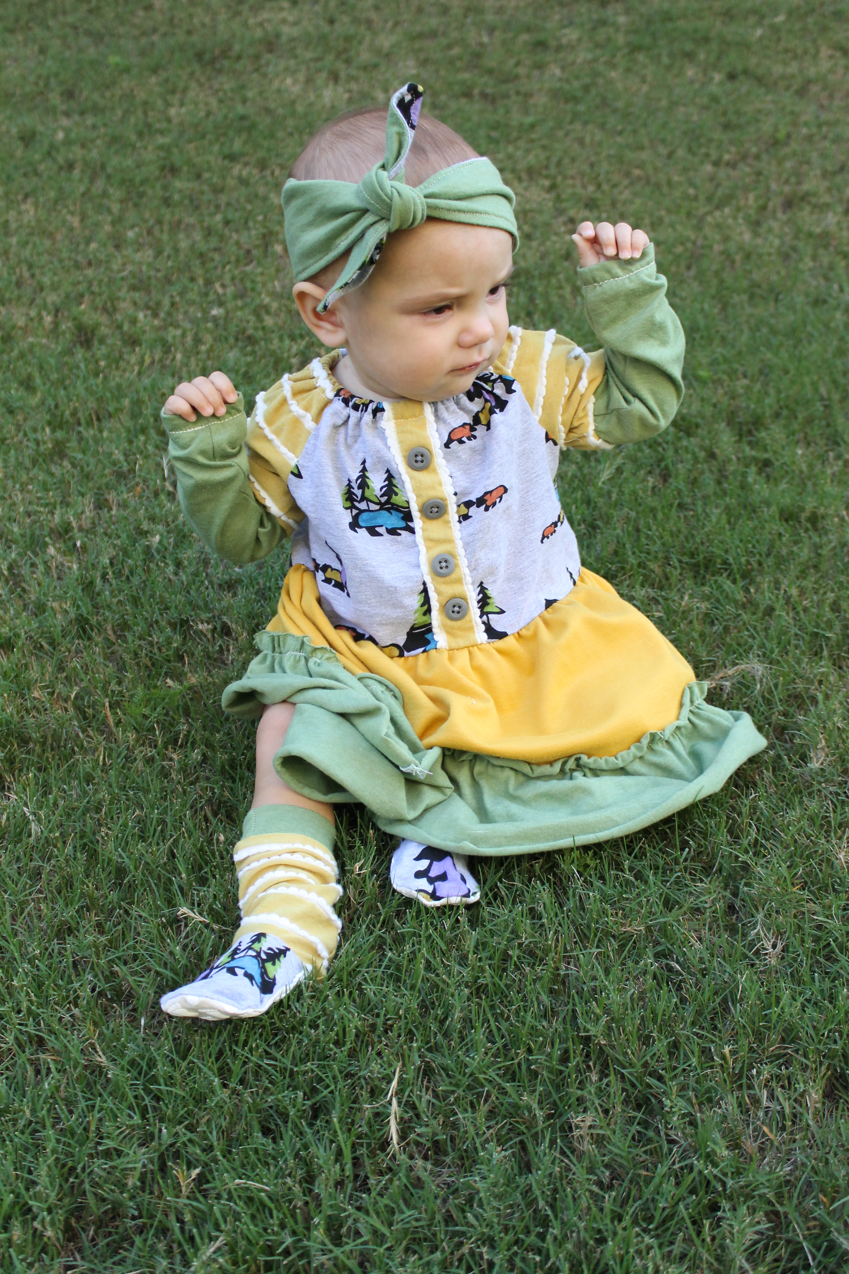 A Little Ruffled Peasant Dress For Annabelle Confessions