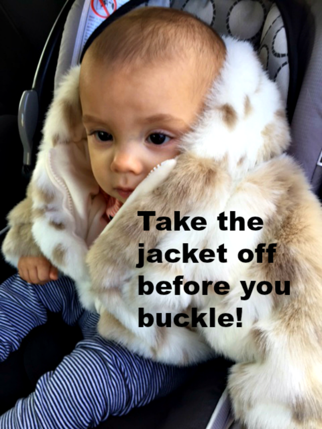 Car Seats And Winter Coat Safety Car Seat Safety 3