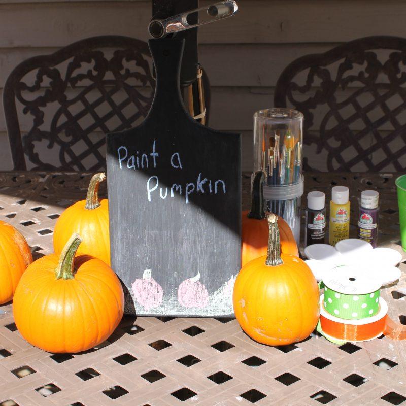 DIY Hand Print Turkey Pumpkins
