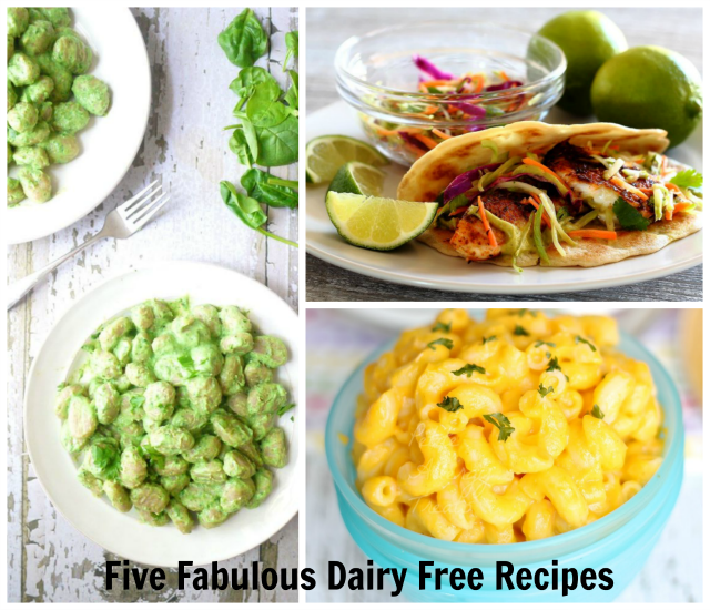 Dairy Free Recipe Collage