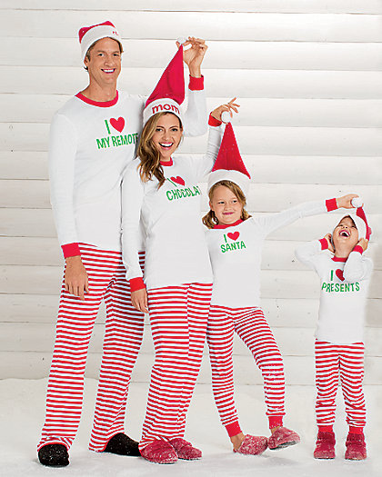 Family Christmas Pajamas - Confessions of a Northern Belle