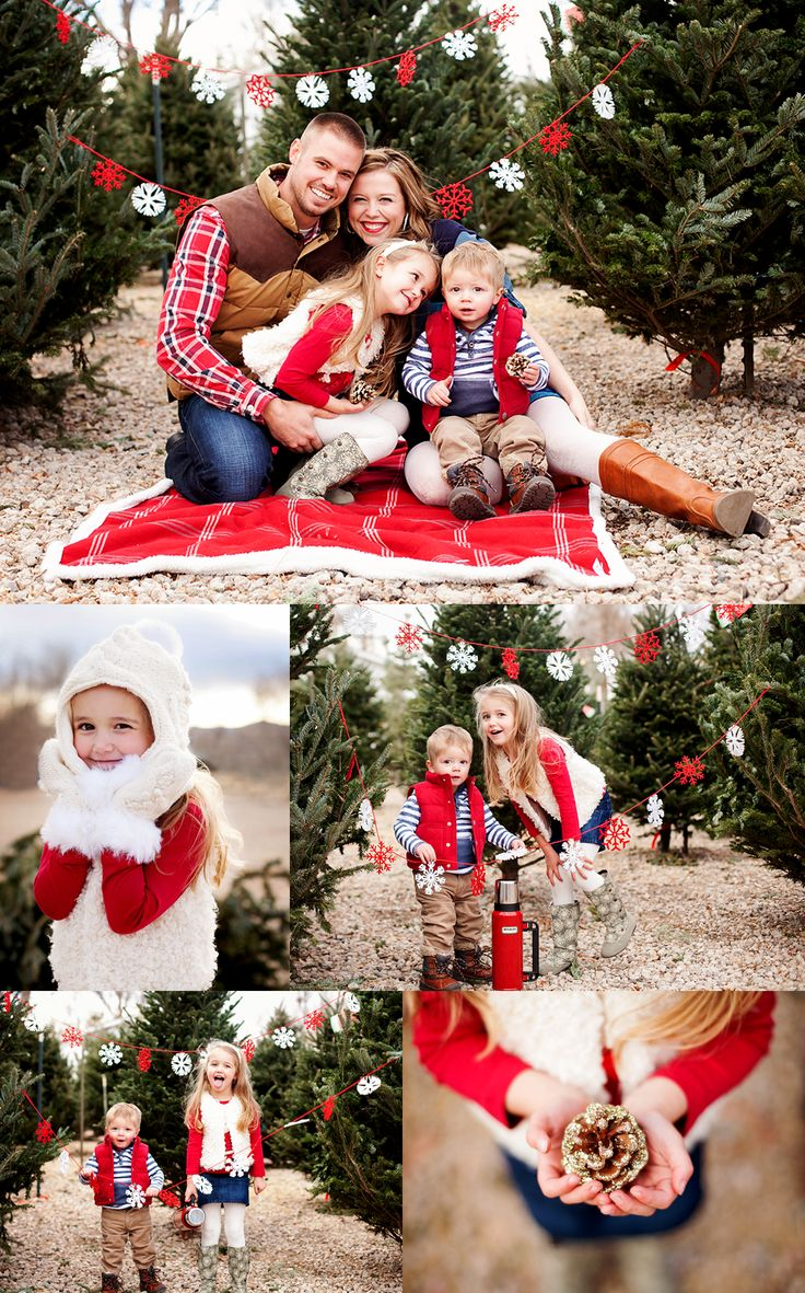 Holiday Family Photo Inspiration - Confessions of a Northern Belle