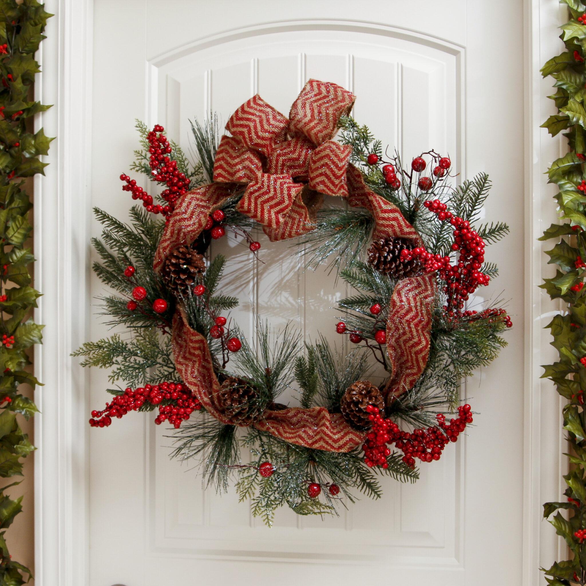 Christmas Wreath Pre Lit