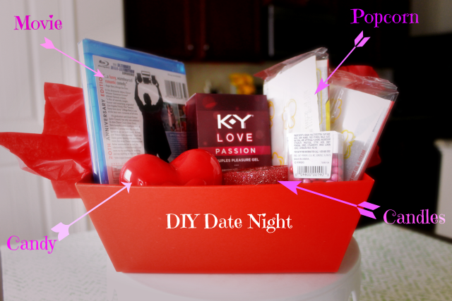 DIY Date Night Gift Basket