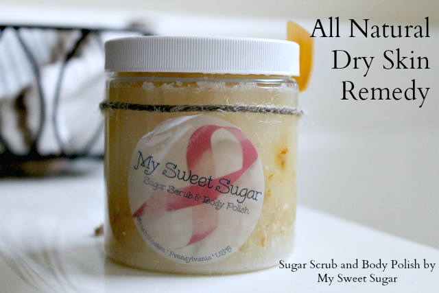 All Natural Dry Skin Scrub