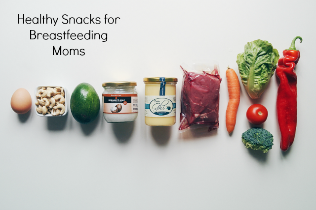 10 Snack Ideas for Breastfeeding Moms