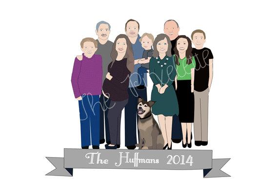The Pixelette Extended Family