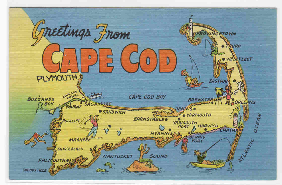 cape cod map. top  places to visit in cape cod  confessions of a northern belle