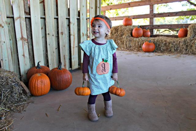 Annabelle Pumpkin Picking
