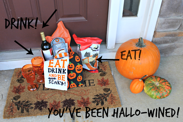 DIY: You've Been Hallo-wined!