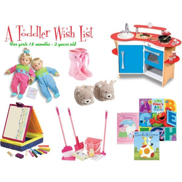 A Toddler's Christmas Wish List