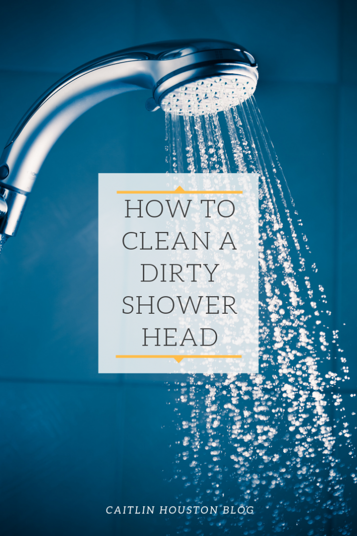 How to Clean a Dirty Shower Head