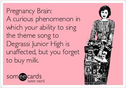 pregnany brain
