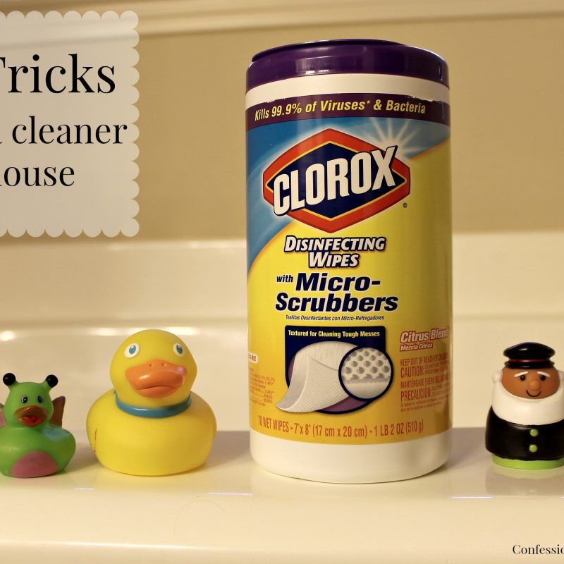 Tricks for a Clean Home with Clorox - Caitlin Houston