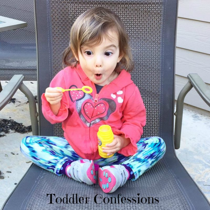 Toddler Confessions
