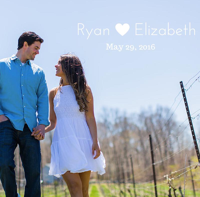 Vineyard Engagement Photos