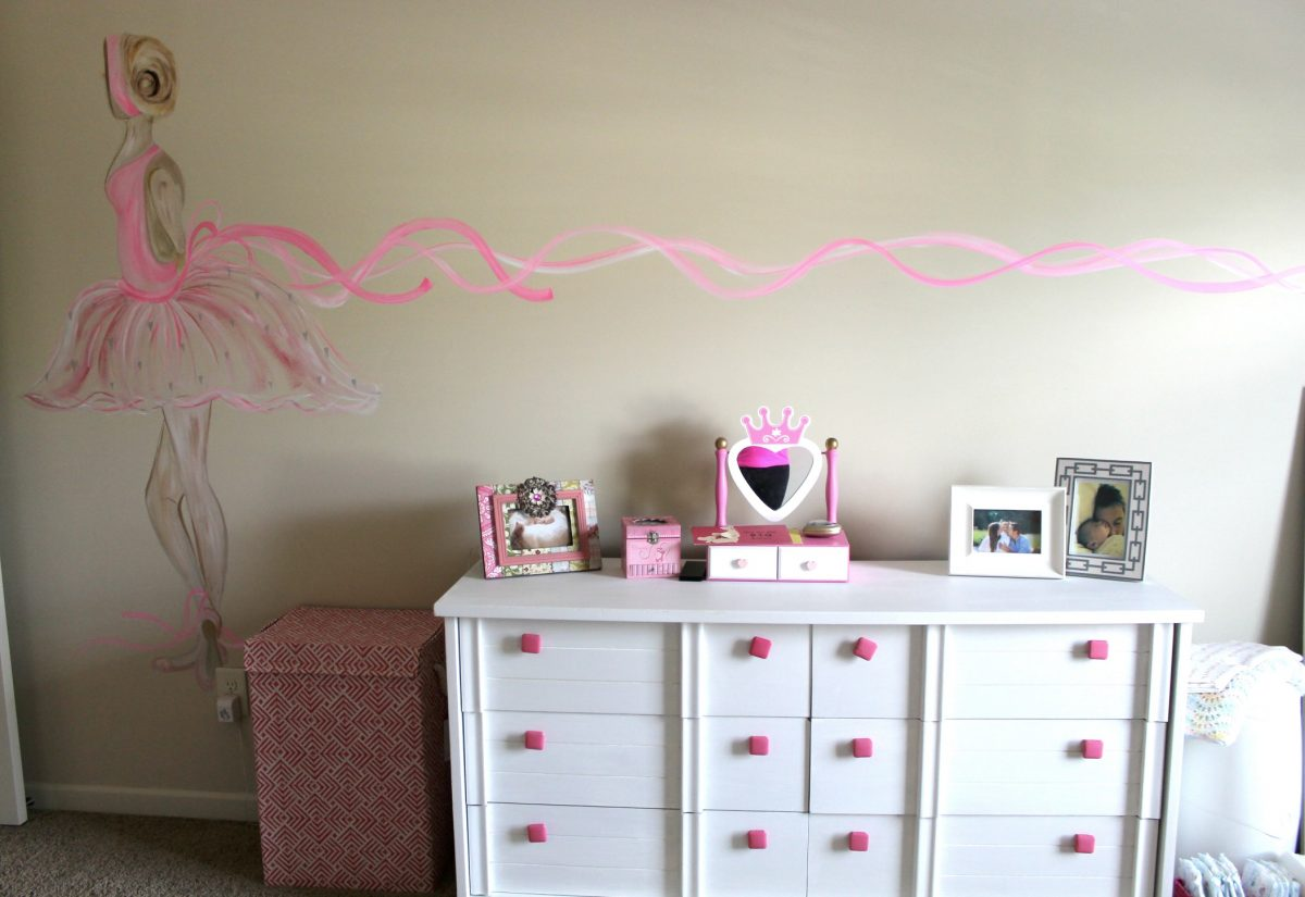 Ballerina Bedroom Murals