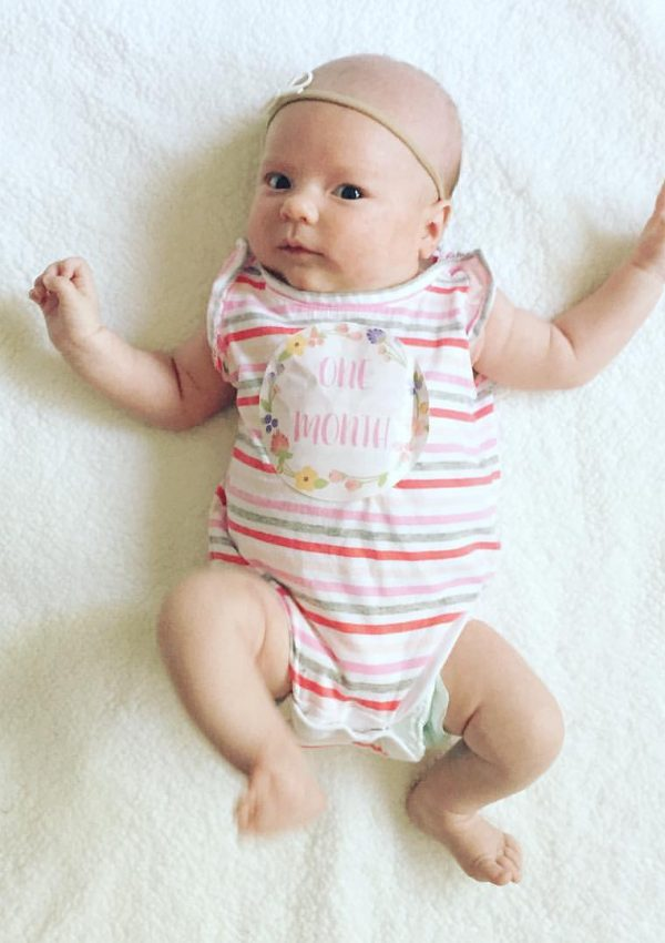 Ailey – One Month Old