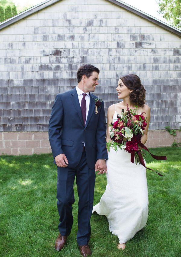 My Sister's Wedding: Bride and Groom