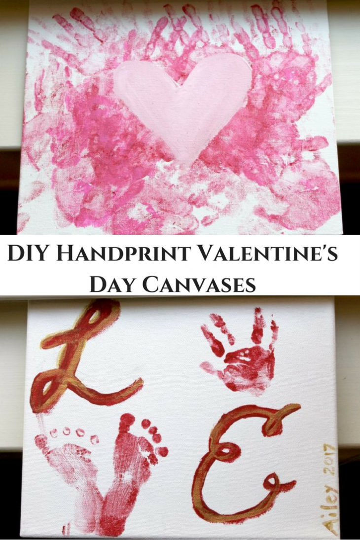 handprint heart craft handprint s day gifts confessions of a 2152