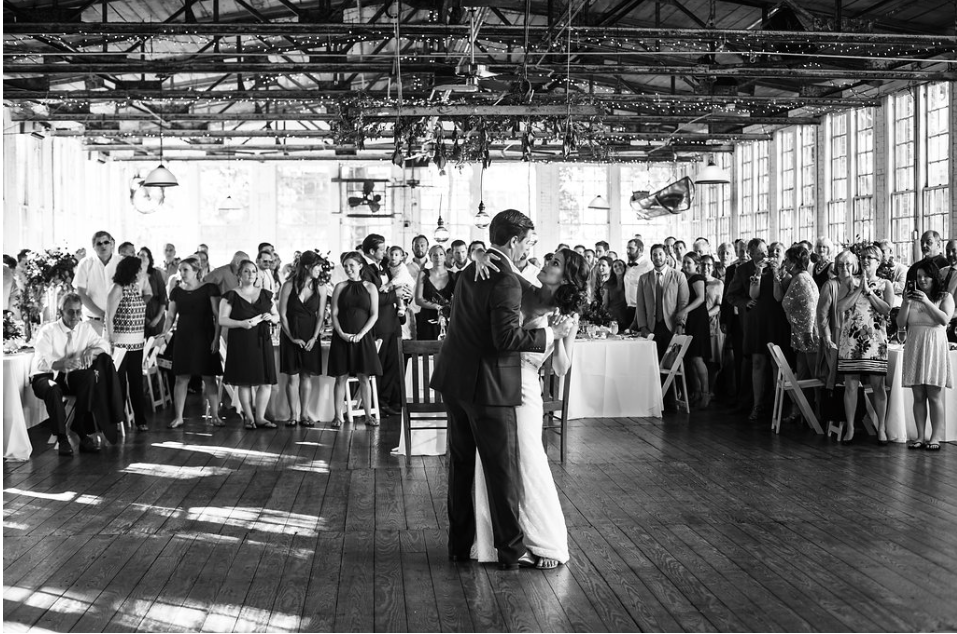 My Sister's Wedding: The Reception at The Lace Factory