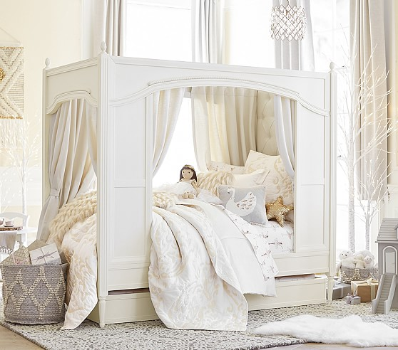 Best Both bedroom sets are from Pottery Barn Kids Both bedroom sets are WAY out of our price range