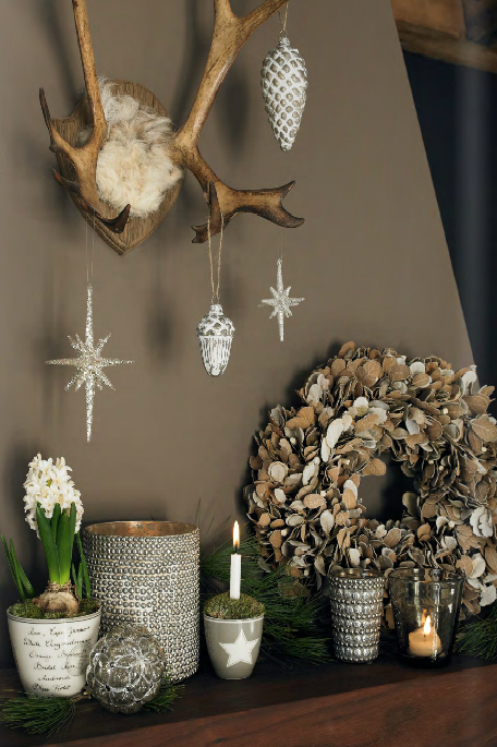 Brown Natural Winter Decor