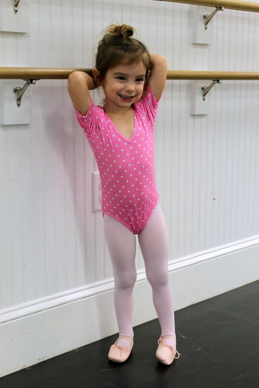 Polka Dot Leotard Ballerina