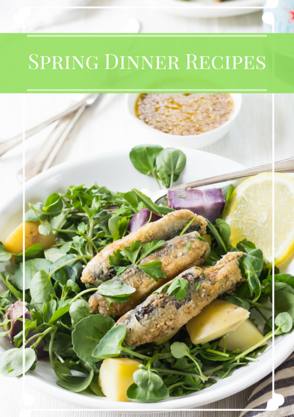 Five Spring Dinner Recipes