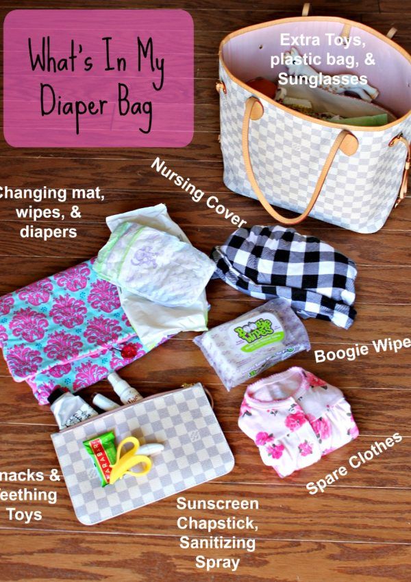 How to Pack a Diaper Bag for the Spring