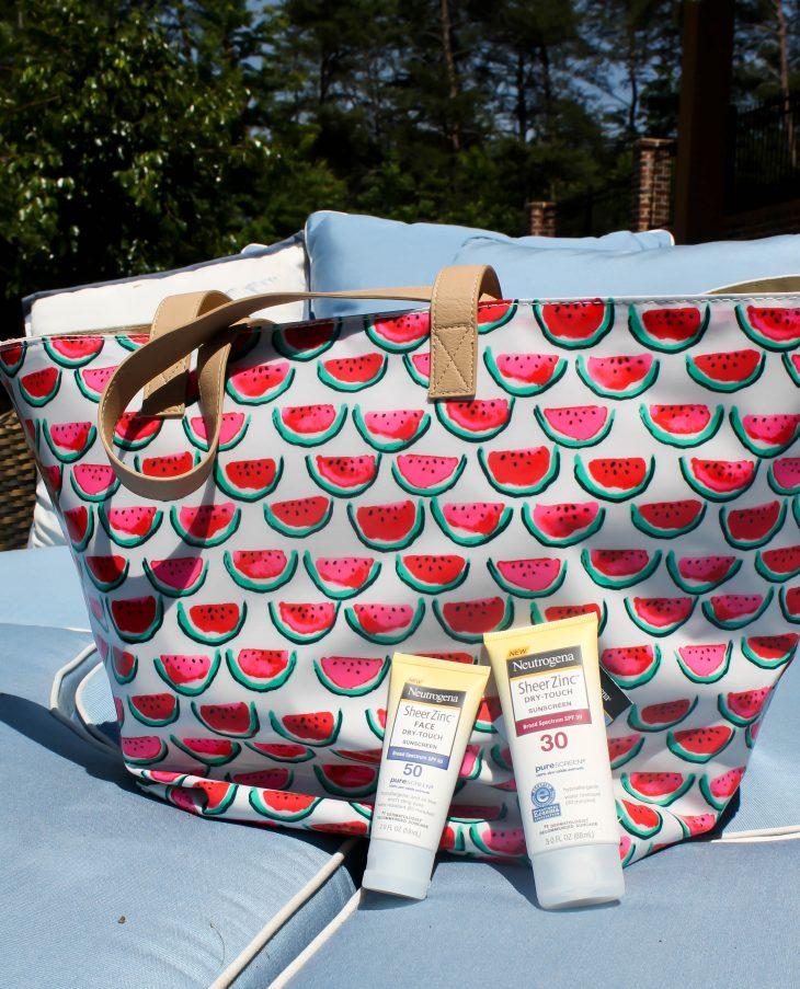 Sunscreen, Beach Bag