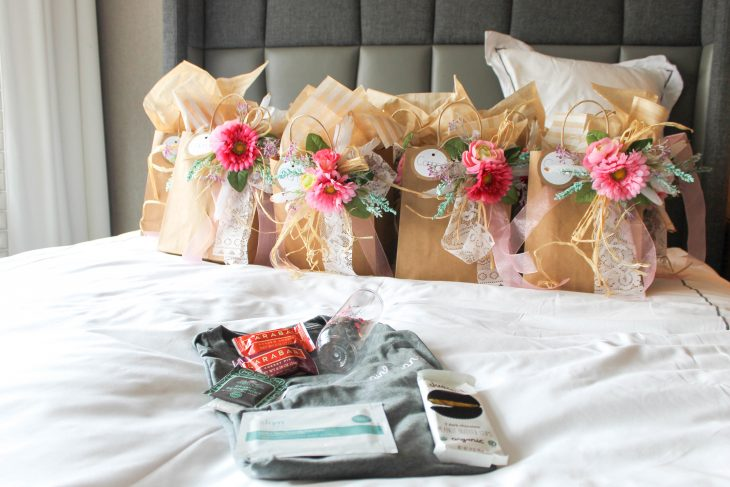 contents of bachelorette gift bag