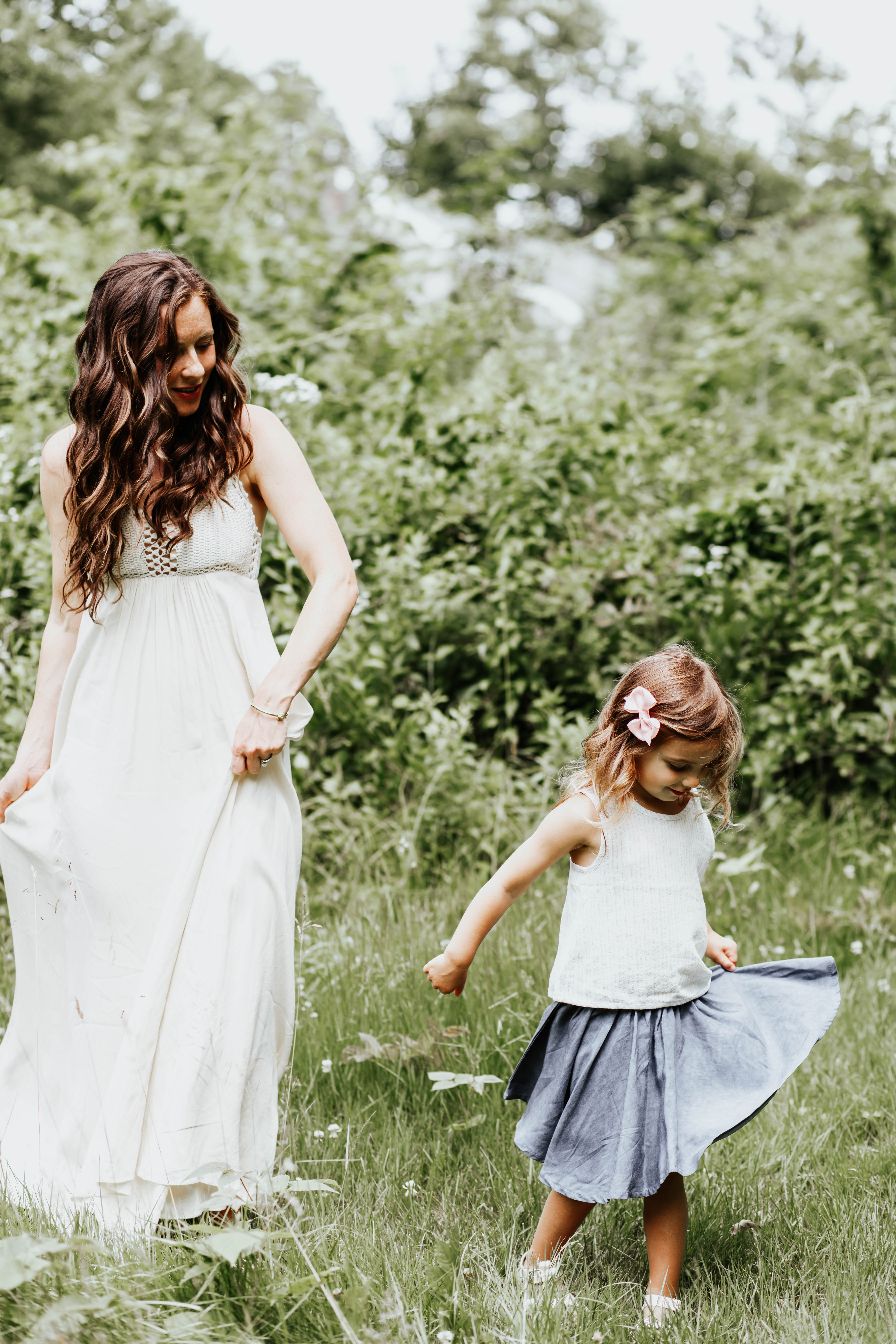 Simple Mom Outfits // Crochet Maxi