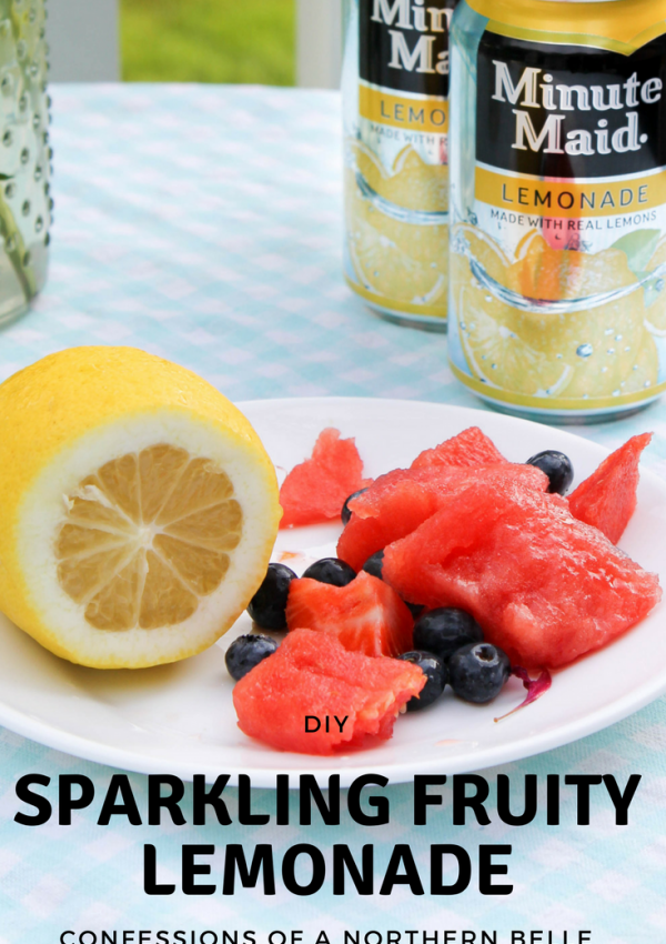 Sparkling Fruity Lemonade
