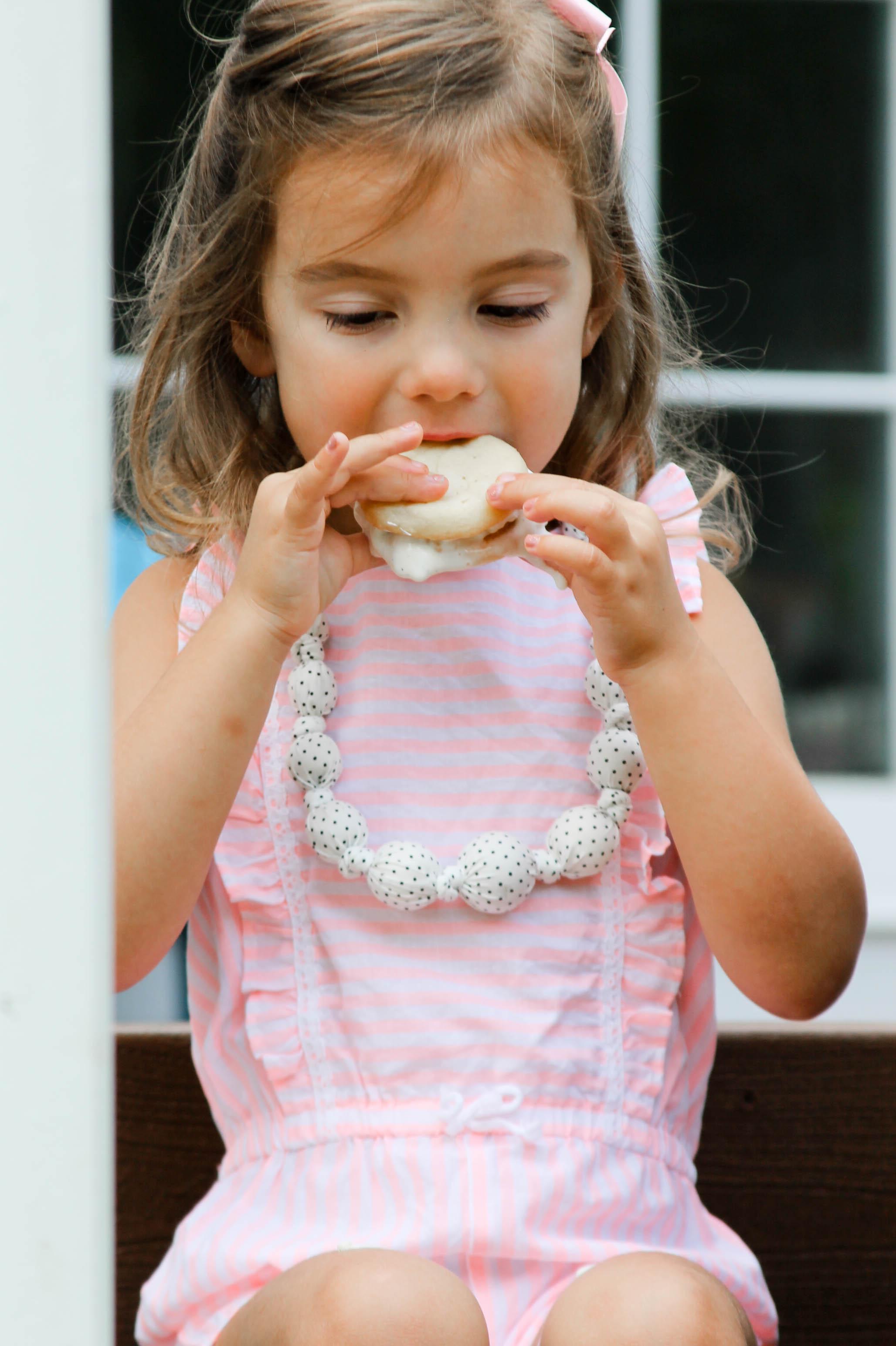 Ice Cream Cake Sandwiches