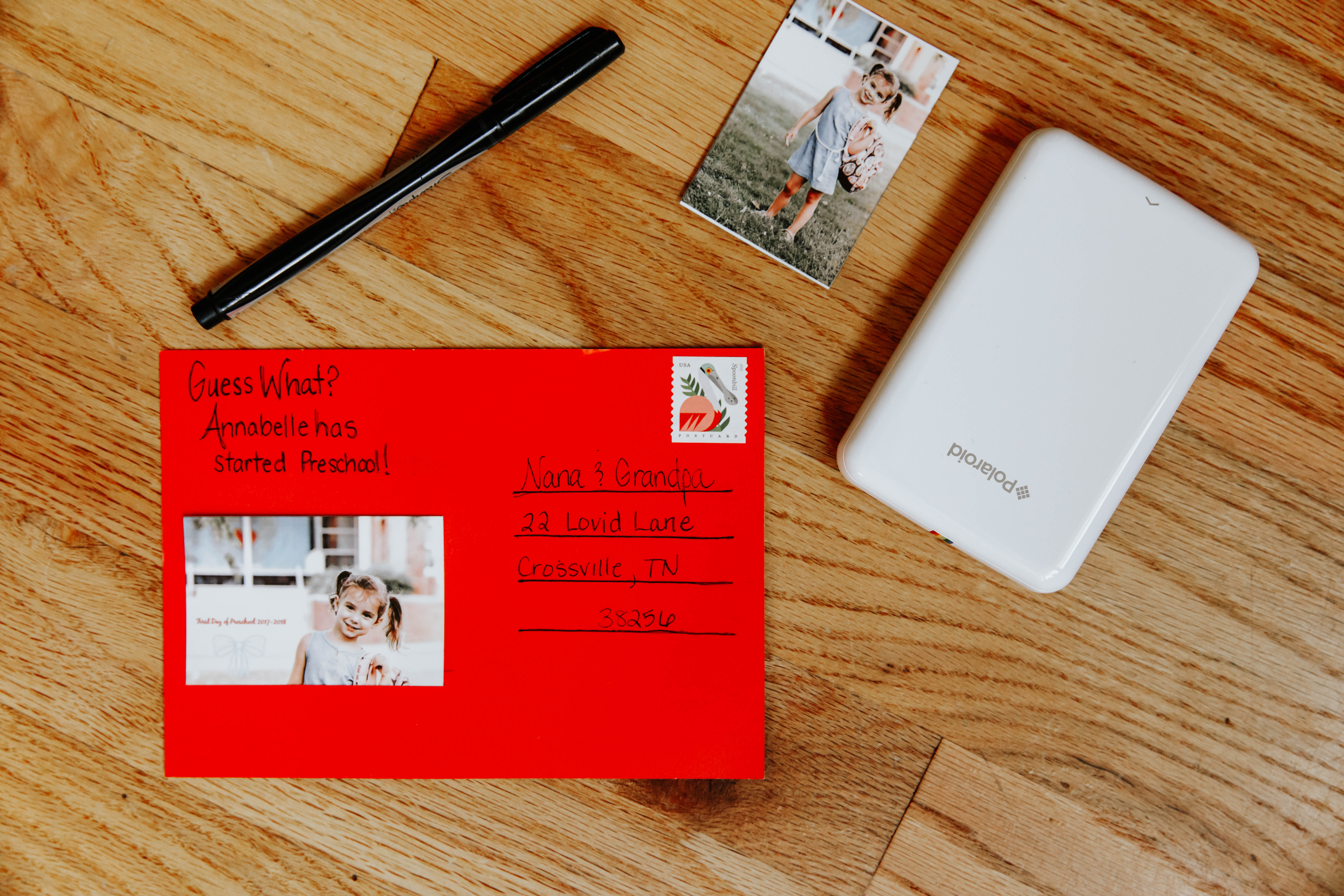DIY Back to School Postcards