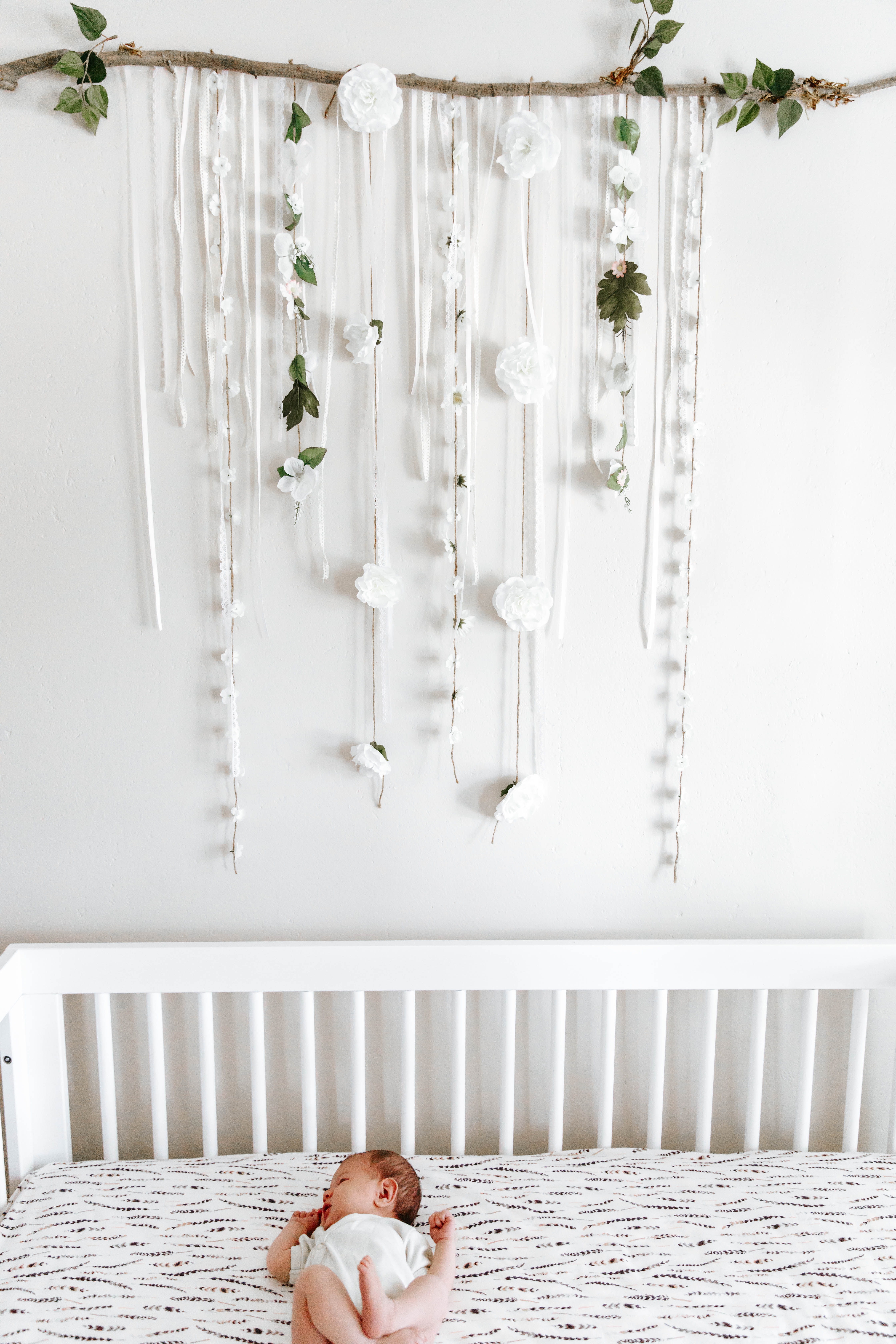 Boho Floral Themed Nursery Confessions Of A Northern Belle