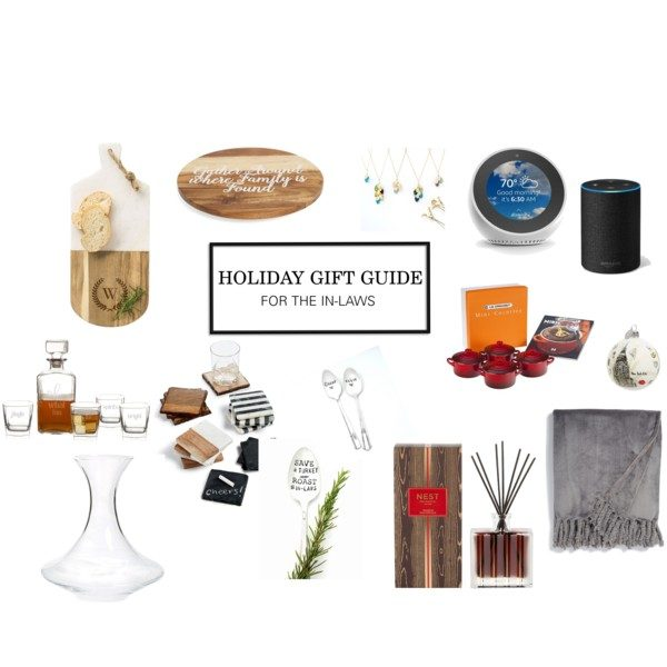 Holiday Gift Guide // In-Laws