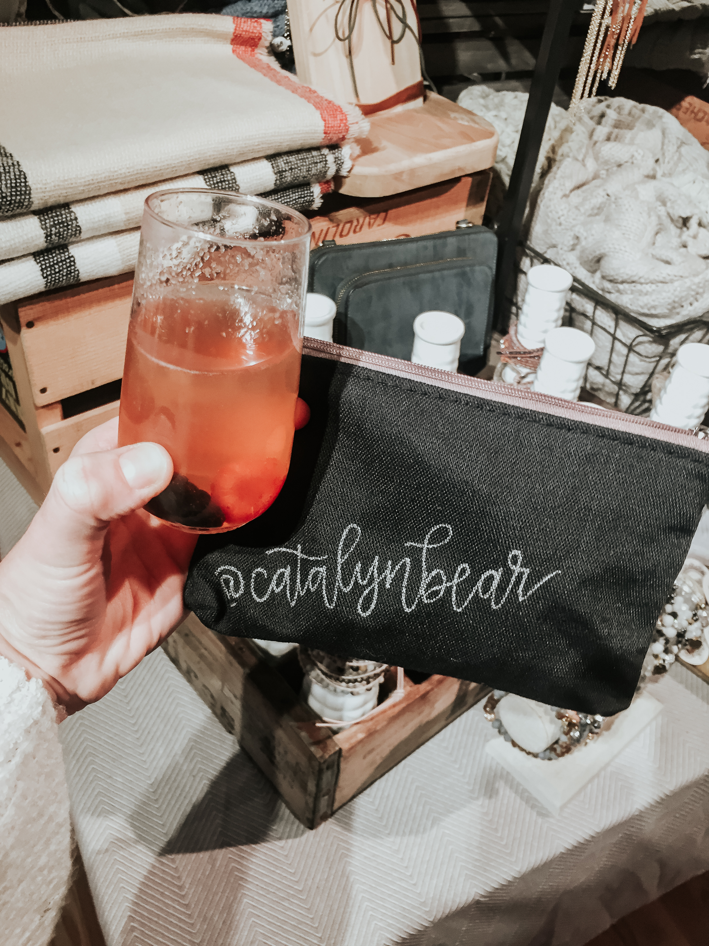 Sip and Shop at Pearls & Plaid {CT Blogger Babes}