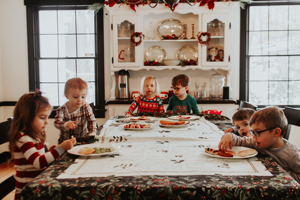 How to Host a Christmas Pajama and Pancake Party