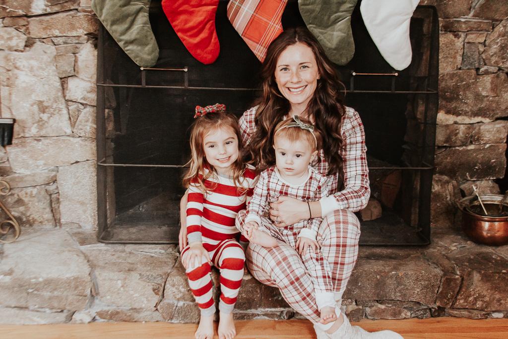 Mom Daughters Matching Christmas Pajamas
