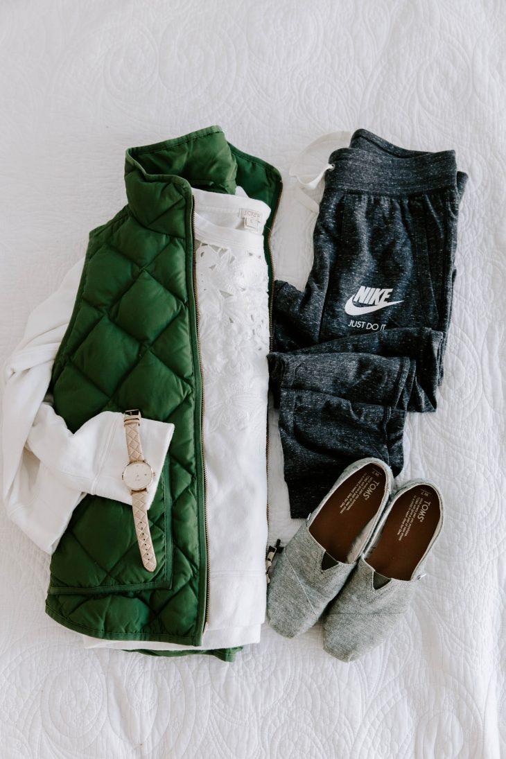 Joggers, Vest, Sweatshirt, TOMS