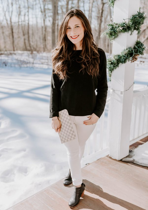 Last Minute Winter Date Night Outfit