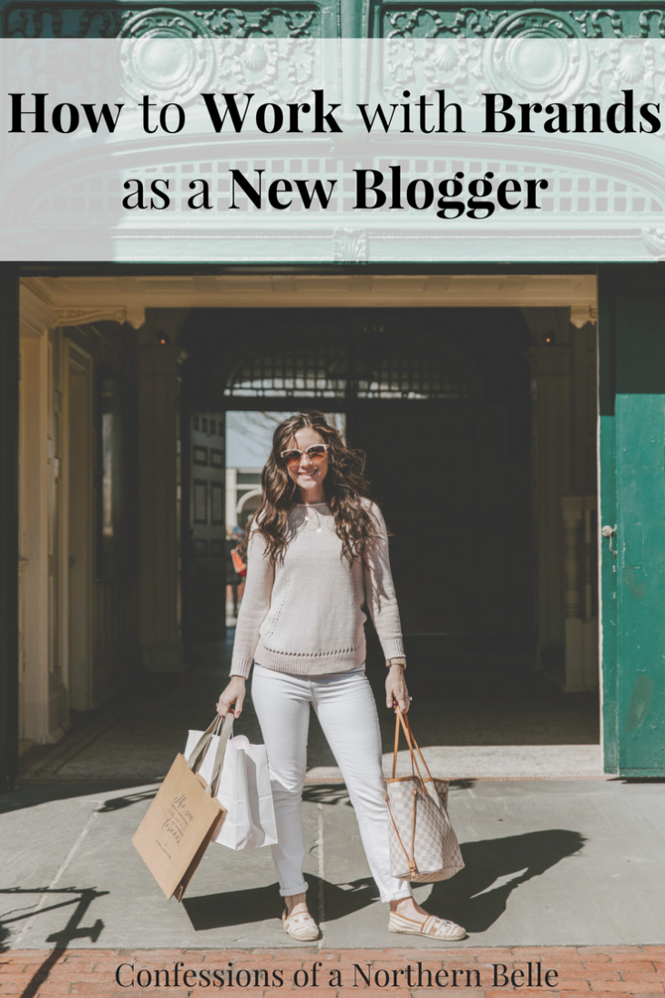 Tips for working with brands as a new blogger