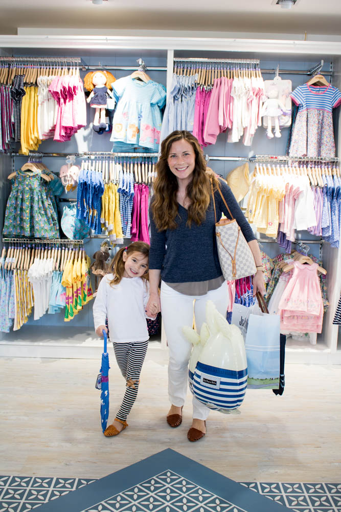 Clothing Store Mom and Daughter Shopping