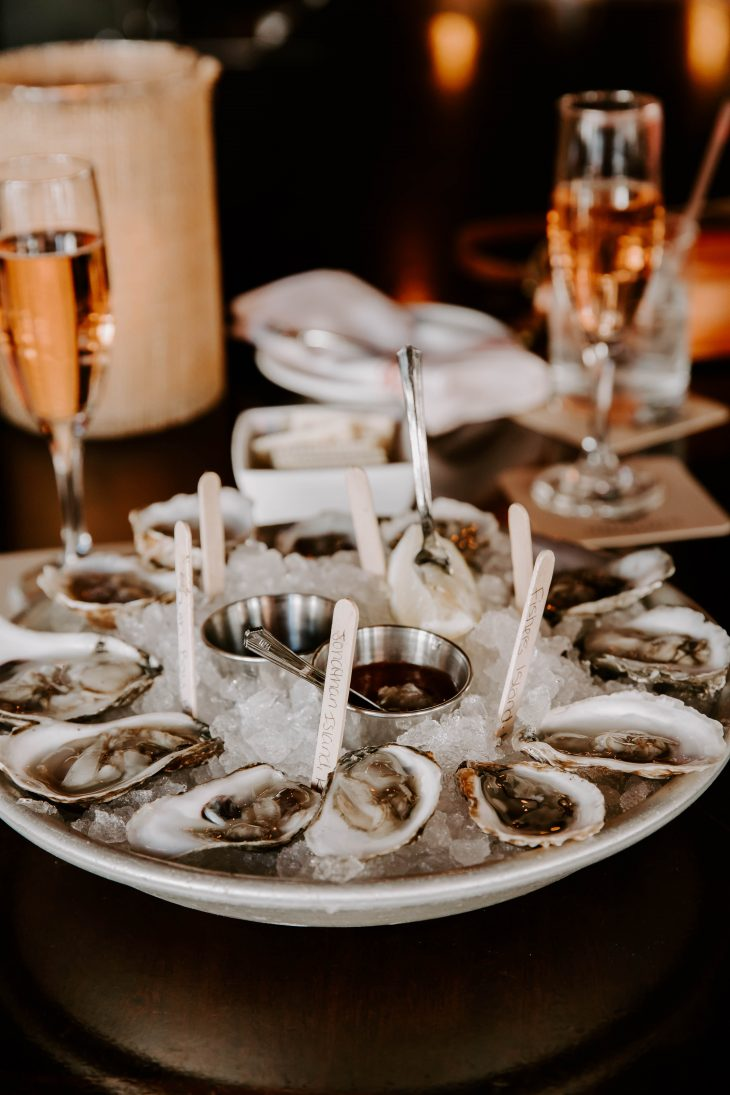 Oysters and Champage